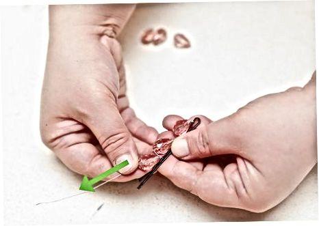 Menggunakan Beads dan Kawat