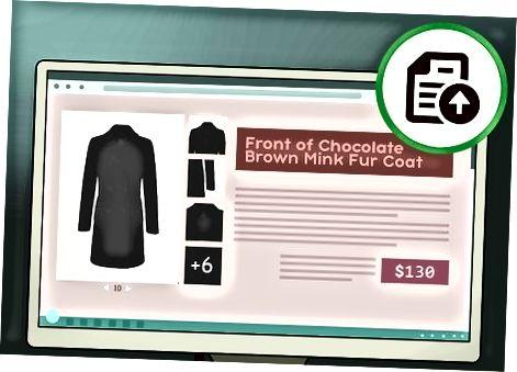 Перечисление вашего пальто для продажи онлайн