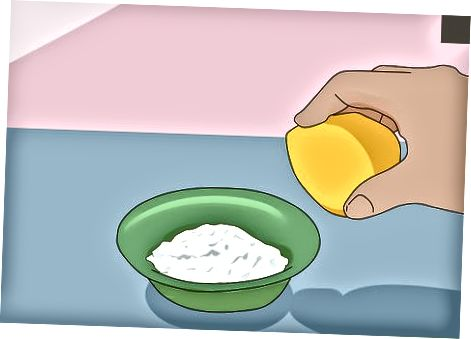 Limon va tuz bilan engil shilimshiqni tozalash