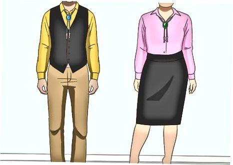 Pagpunta para sa isang Semi-Formal na Bolo Tie Look