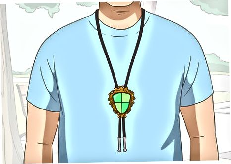 Going more Casual kasama ang Bolo Tie