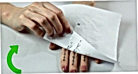 Sizning Henna zarbingizni qo'llash