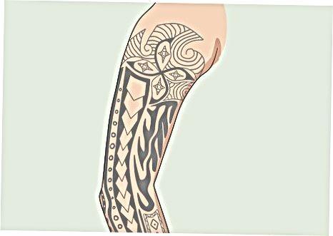 Bir qo'lingizga individual tatuirovkalarni cho'zish