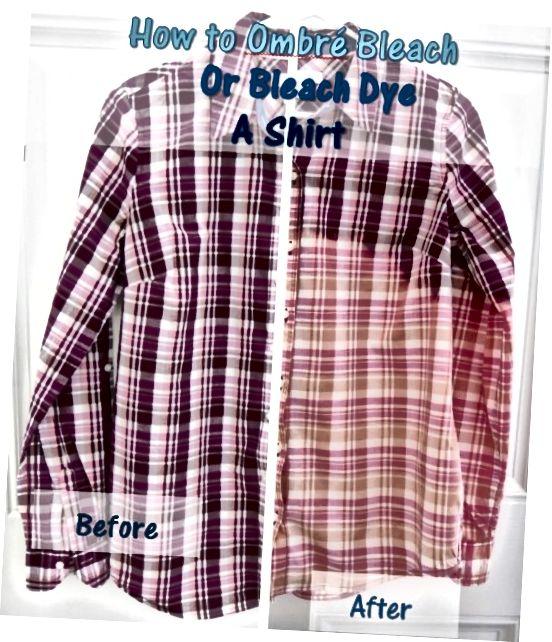 چگونه Ombre Bleach ، یا Bleach Dye ، پیراهن