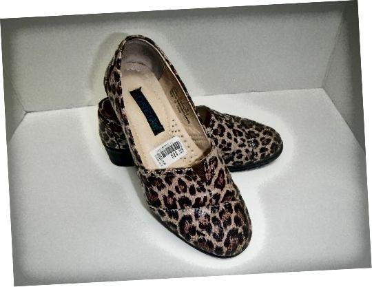 Ці черевики коштують 5 доларів замість ціни на наклейку - 24,99 долара