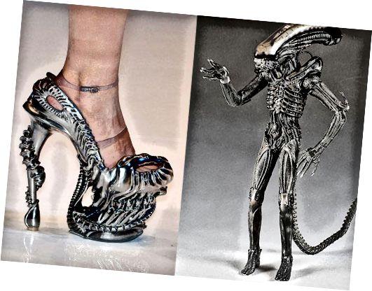 Als deze schoenen geen ander doel voor je hebben, kun je altijd effectief naar de lies trappen met een echte metalen hielverstuiver om overvallers af te schrikken.