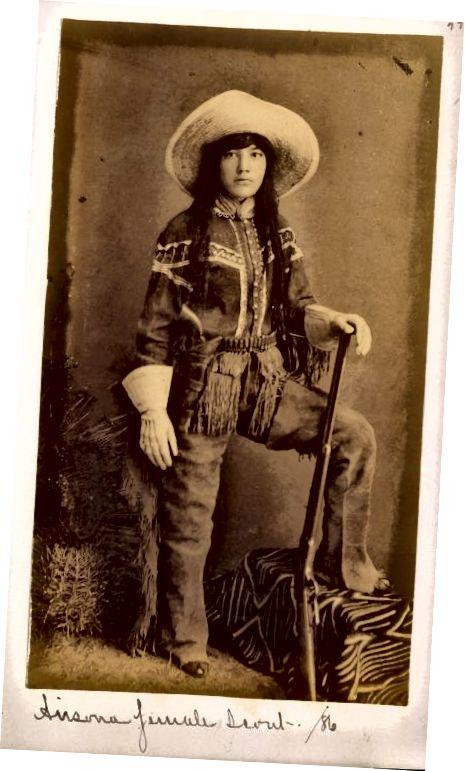 तेजना काउगर्ल 1886