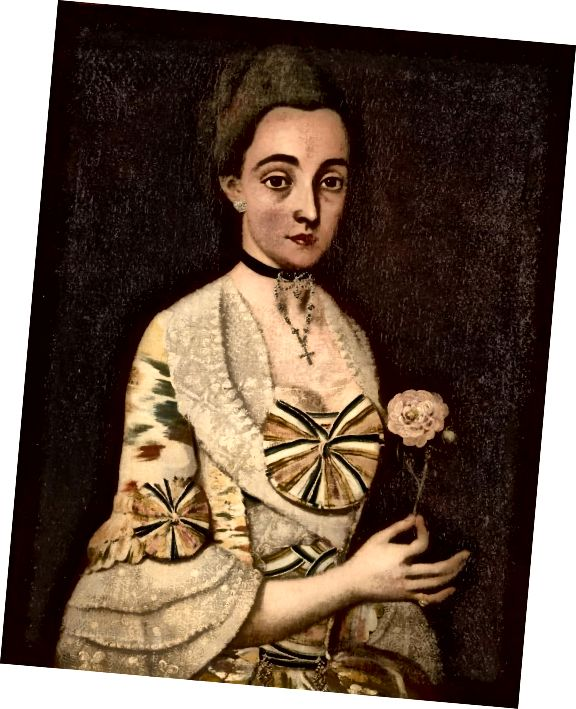 मारिया रीटा वाल्डेज़ डे विला 1852।
