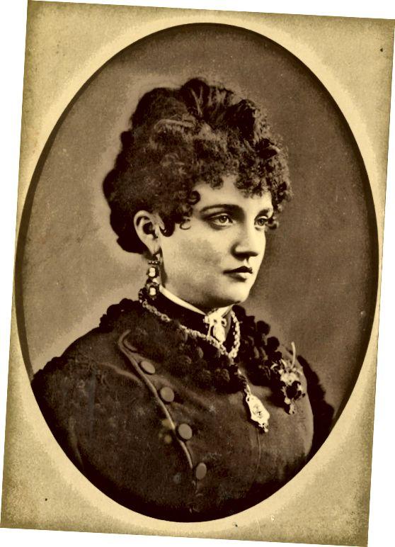 एलिजाबेथ मैककोर्ट टैबोर (1854-1935) पश्चिम की सबसे अच्छी पोशाक वाली महिलाओं में से एक थीं। उसका जीवन कहानी को रगों के लिए धन का एक तमगा था।