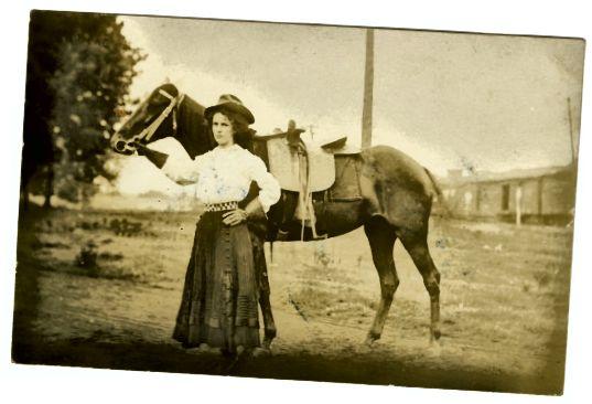 यदि आप बारीकी से देखते हैं, तो आप देखेंगे कि घोड़ा एक पार्श्व पहने हुए है।