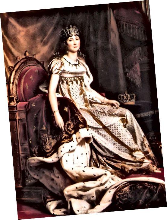 The Empress Josephine - Ikon Fashion Era Kabupaten; Lukisan oleh Francois Gerard