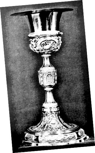 Platinum Papal δισκοπότηρος δημιουργήθηκε το 1788.