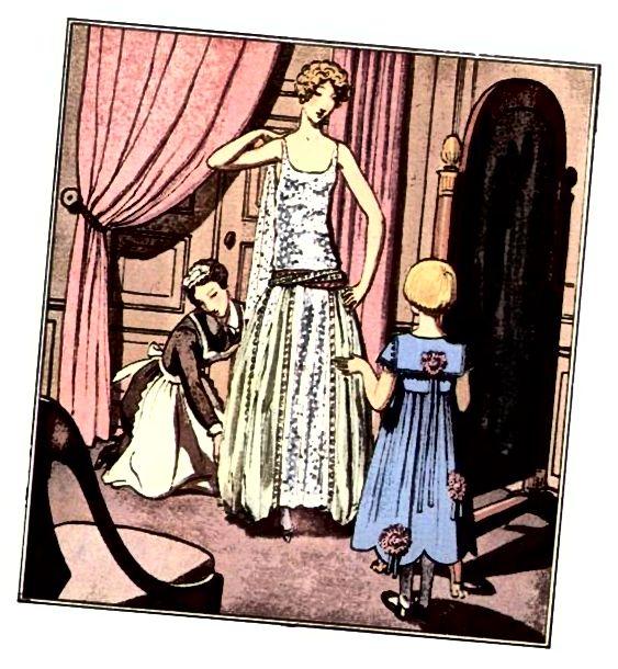 1920 इवनिंग ड्रेस - लविन