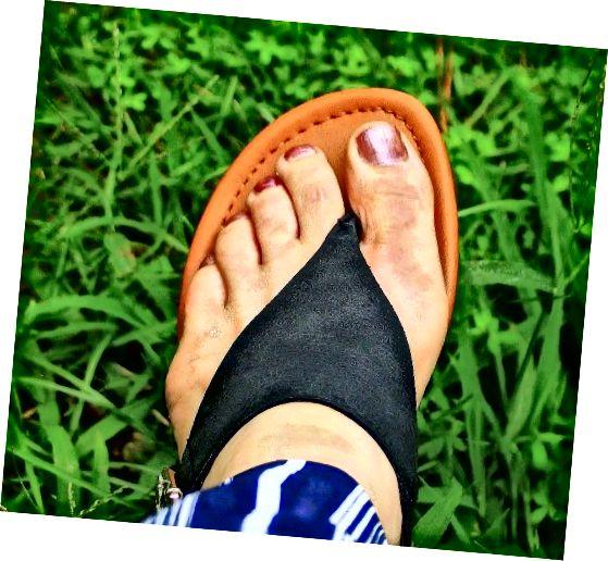Piciorul de atlet este o altă cauză a mirosului corporal.