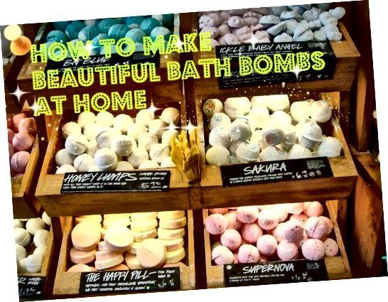 Tyto koupelové bomby vypadají tak pěkně, že jsem je mohl sníst! Tento náboj vás naučí, jak vytvářet takové bomby.