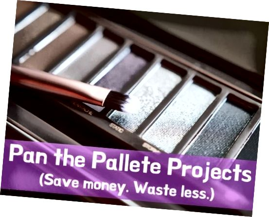 Pokud jste uvízli ve vyjetých kolejích se svým make-upem, proč nezkusit vyzkoušet projekt Pan the Pallette?