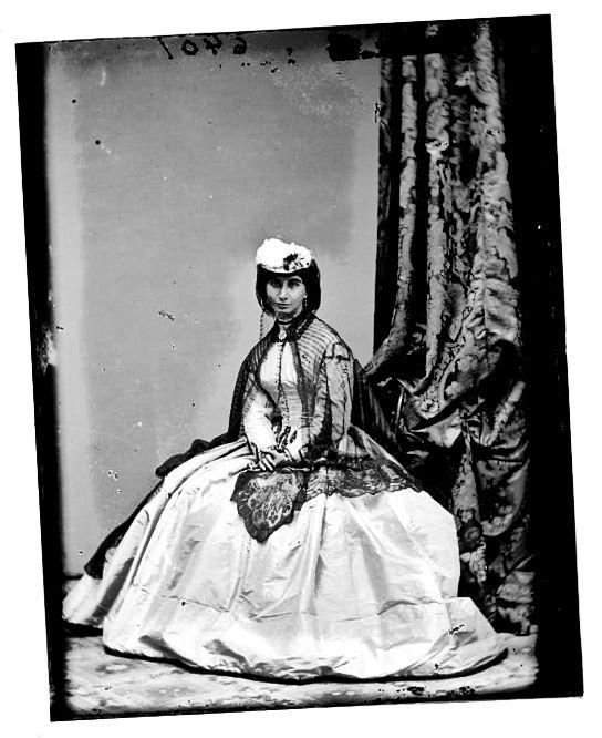 1800 के मध्य में महिलाओं के फैशन में बदलाव के लिए अमेरिकी गृह युद्ध जिम्मेदार था।