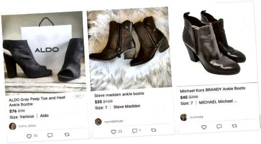 Dámské boty na prodej na Poshmark.