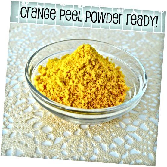 कितना भव्य रंग है! अपने संतरे के छिलके को एक एयरटाइट कंटेनर में स्टोर करें। 3 महीने के भीतर उपयोग करें।