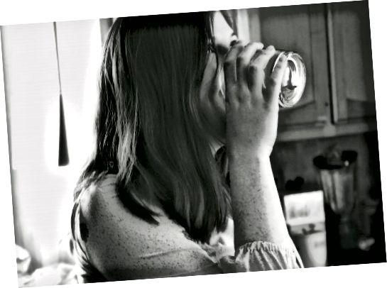 Drink water. Drink dan nog wat.