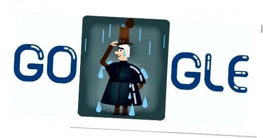 Το Google Doodle για τις 29 Δεκεμβρίου 2016 γιορτάζει τα 250α γενέθλια του Macintosh. Τον δείχνει να απολαμβάνει ένα σκωτσέζικο ντους βροχής ενώ δοκιμάζει την εφεύρεσή του.