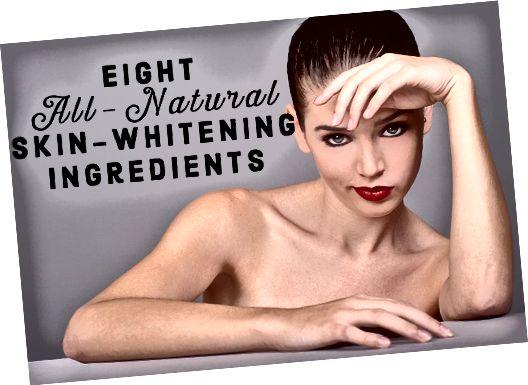 Oto lista 8 składników z natury, które naprawdę wybielają skórę i stanowią alternatywę dla stosowania produktów syntetycznych, takich jak kremy hydrochinonowe.