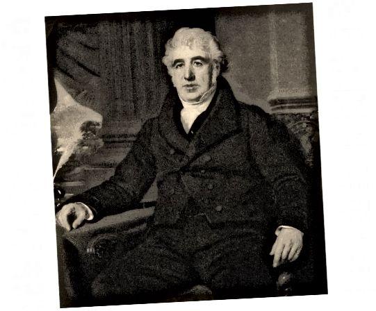 Πορτρέτο του Charles Macintosh, εφευρέτη και βιομηχανικού χημικού.