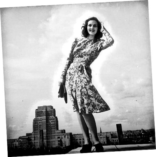 अवधि के सरल अभी तक आकर्षक पोशाक में 7 राशन कूपन का उपयोग किया गया था