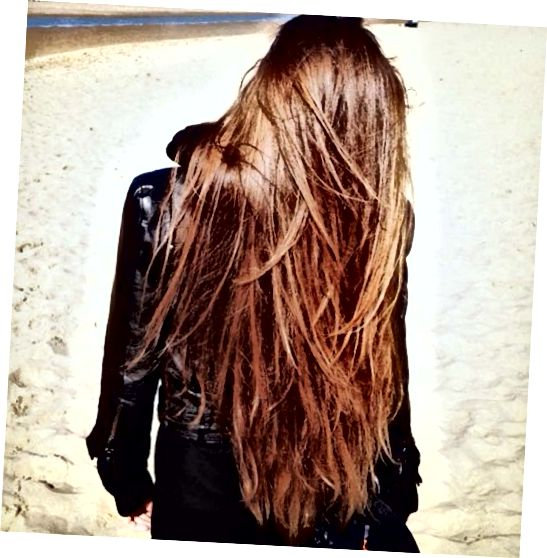 Dobre, no .... keby som mal tieto vlasy, pravdepodobne by som ich nechal dlho po zvyšok svojho života!