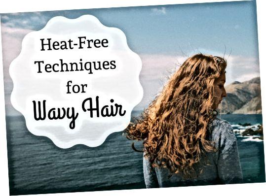 بافندگی ، تمیز کننده های لوله یا فر را امتحان کنید تا موجی بدون گرما یا مواد شیمیایی خشن در موهای خود قرار دهید.