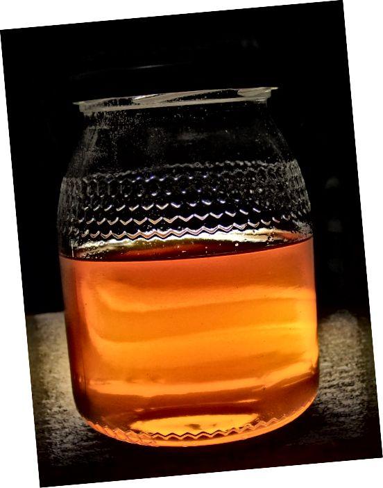 عسل یا شهد خدایان راهی طبیعی برای تغذیه پوست است.