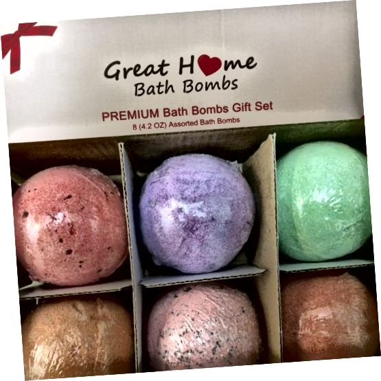 Great Home Bath Bombs 선물 세트에 대한 자세한 내용을 확인하십시오. 그것이 정말로 좋은 선물인지 아닌지 알아보십시오.