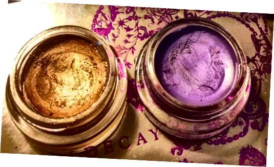 Смелае золата Maybelline's & Painted Purple