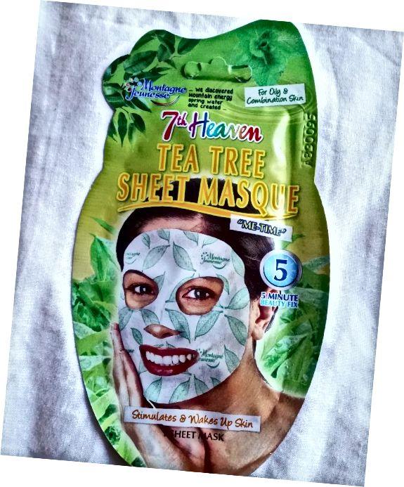 Vnější obal obličejové masky 7. listového nebe.