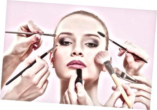 Naučte se, jak aplikovat make-up a vyhnout se bakteriím a plísním.