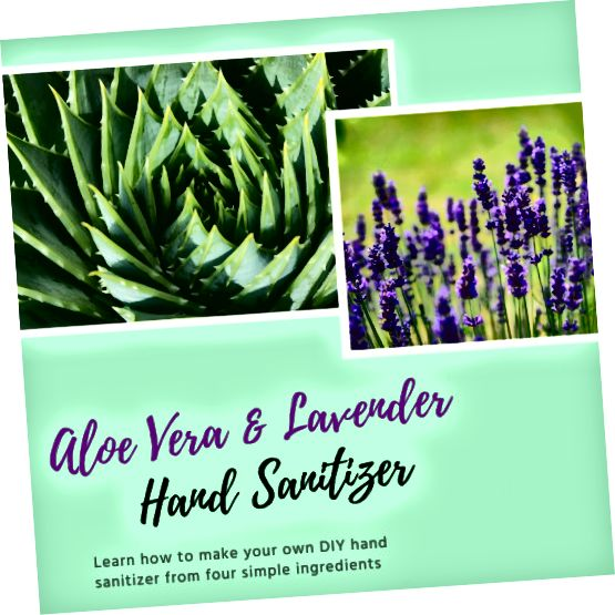 Tento článek vám ukáže, jak si vytvořit vlastní domácí dezinfekční prostředek na ruce pouze ze čtyř jednoduchých složek.