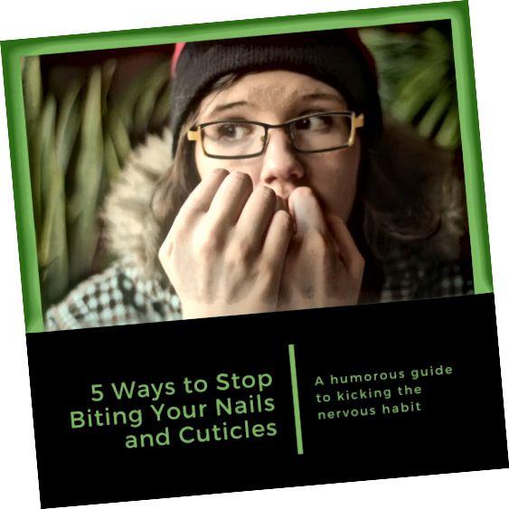 در این مقاله پنج روش برای جلوگیری از گاز گرفتن ناخن های ناخن شما ارائه شده است.