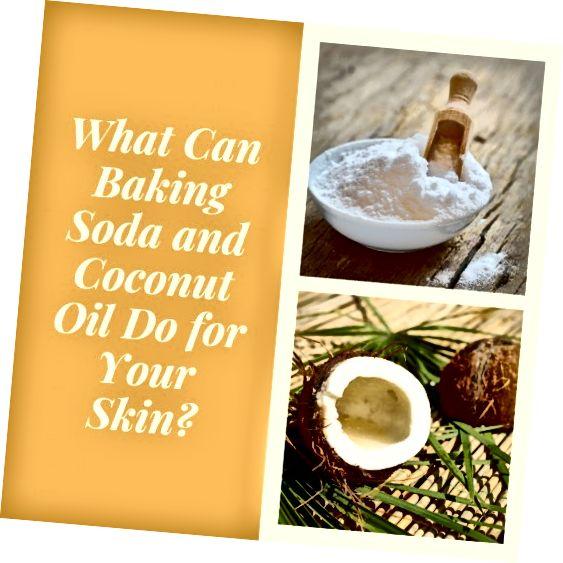 Jedlá soda a kokosový olej jsou zdravé alternativy k tradičním kosmetickým výrobkům.