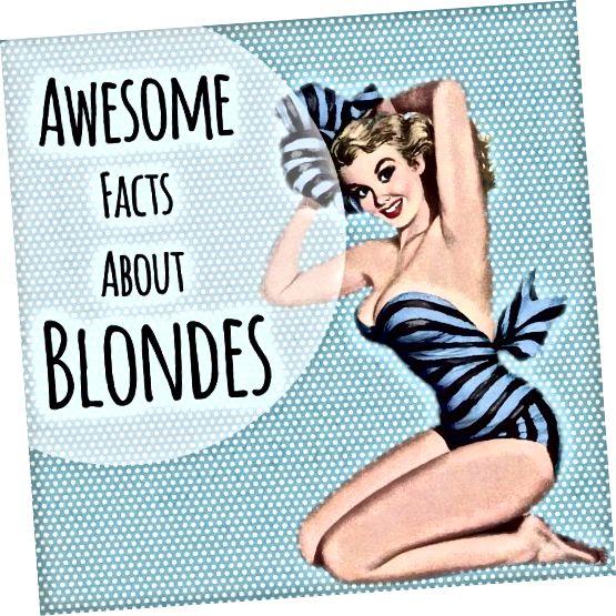 Vergiess déi blond Witzer - wat wësst Dir wierklech iwwer déi blond Hoerfaarf?