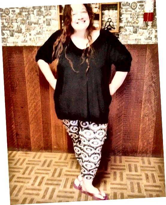 अपने फैशन विकल्पों का ध्यान रखें। मेरे वजन घटाने ने मुझे हास्यास्पद रूप से मुद्रित पैंट के साथ एक मोहलत दी है!
