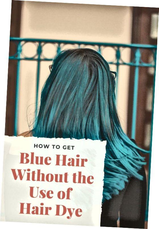 در اینجا نحوه رنگ کردن موهایتان به رنگ آبی بدون مواد شیمیایی خشن آورده شده است. اینها چند روش جالب و آسان برای گرفتن موهای آبی است.