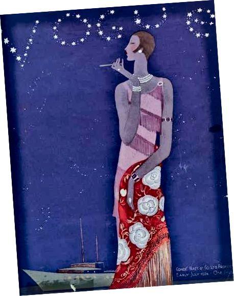 1926 Cover vum Magazin Vogue