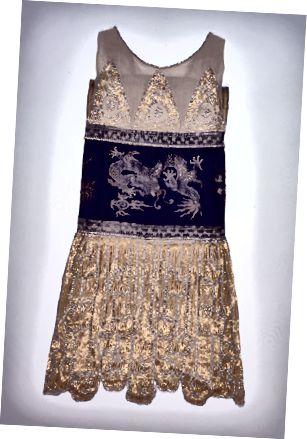 1925 Flapper-Stil Kleedung vum Jeanne Paquin