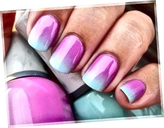 Les ongles ombrés passent lentement d'une couleur à l'autre. Ils sont étonnamment faciles à faire à la maison.