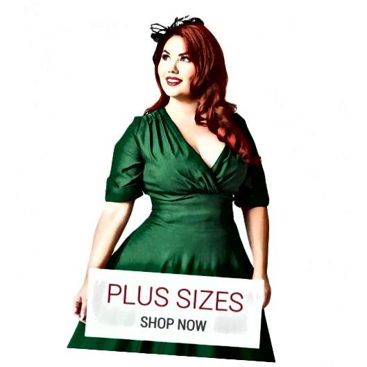 Atomic Cherry- ը առաջարկում է ռետրո և քարացած հագուստ ՝ 14 և ավելի չափերի համար: