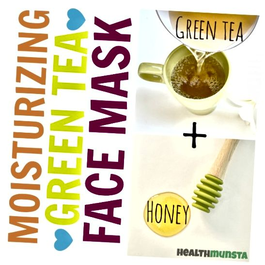 Αυτή η ενυδατική μάσκα προσώπου με πράσινο τσάι και μέλι είναι αντιοξειδωτική και περιέχει επίσης αντιγηραντικές και αντιφλεγμονώδεις ιδιότητες!