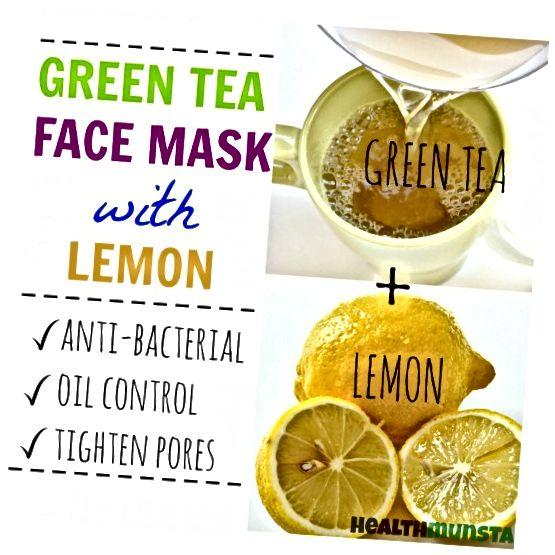 Συνδυάζοντας την αντιβακτηριακή καλοσύνη του λεμονιού και τις φυσικές στυπτικές ιδιότητες του πράσινου τσαγιού, αυτή η πράσινη τσάι και η μάσκα προσώπου λεμονιού θα σας βοηθήσουν να κρατήσετε την ακμή μακριά!