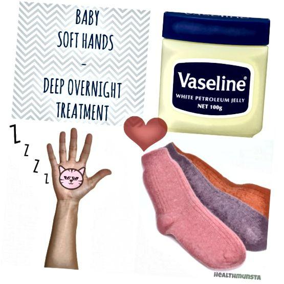 عمل نهایی عمیق شبانه برای دست های خسته و کسل کننده! روز دیگر از خواب بر روی کف دست های نرم بیدار شوید.