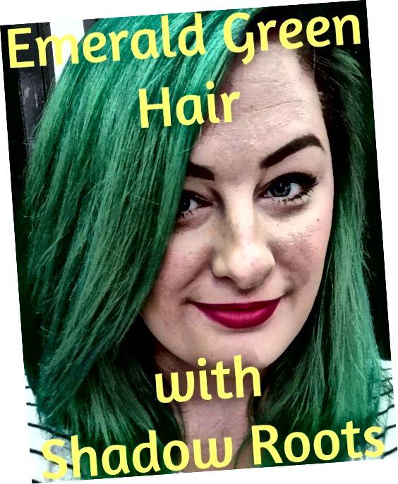 Postupujte podle kroků v tomto článku a vy také můžete mít krásné smaragdově zelené vlasy!