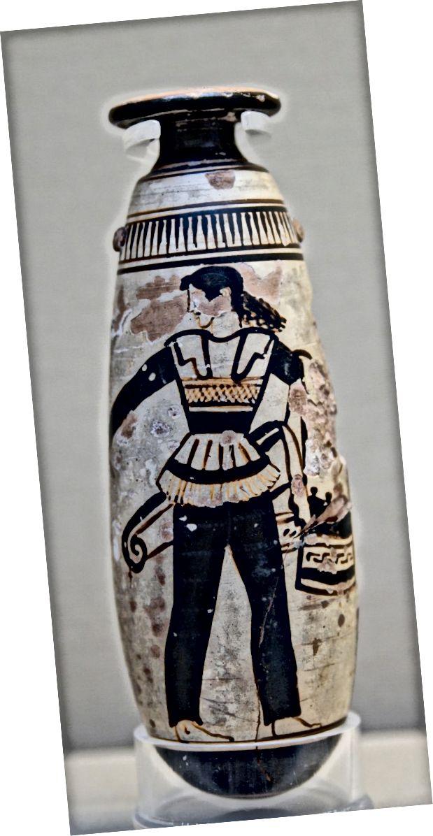 Amazon: o femeie care poartă pantaloni în jurul anului 470 î.Hr. (Î.Hr.)